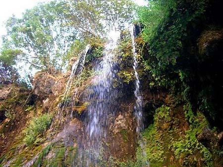 آبشار اخلمد,آدرس اخلمد,اخلمد چناران