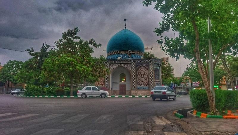 میدان گنبد سبز,میدان گنبد سبز مشهد