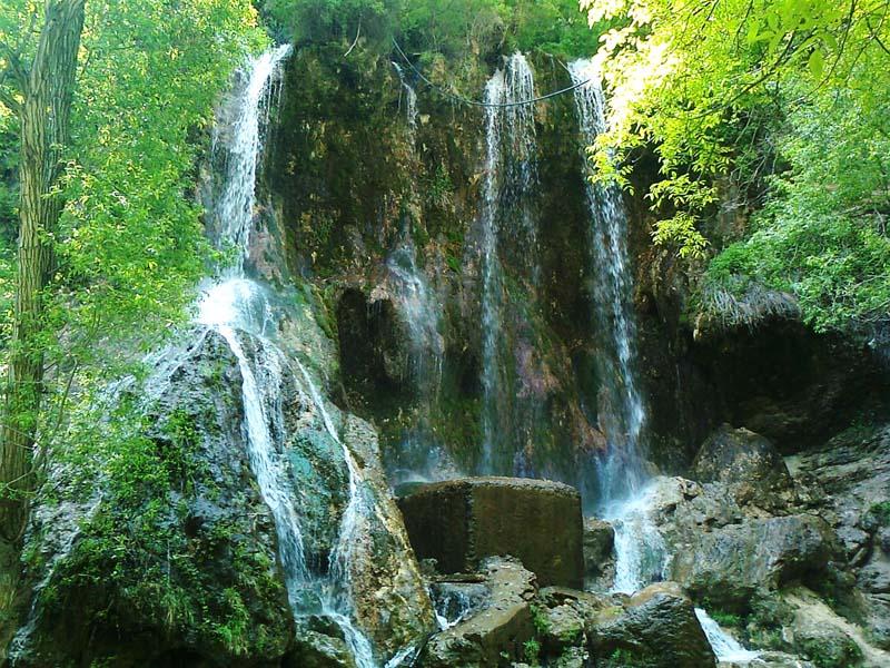 آبشار اخلمد,آبشار اخلمد چناران,آبشار اخلمد مشهد