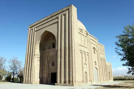 بنای هارونیه طوس,بنای هارونیه مشهد,پلان بنای هارونیه