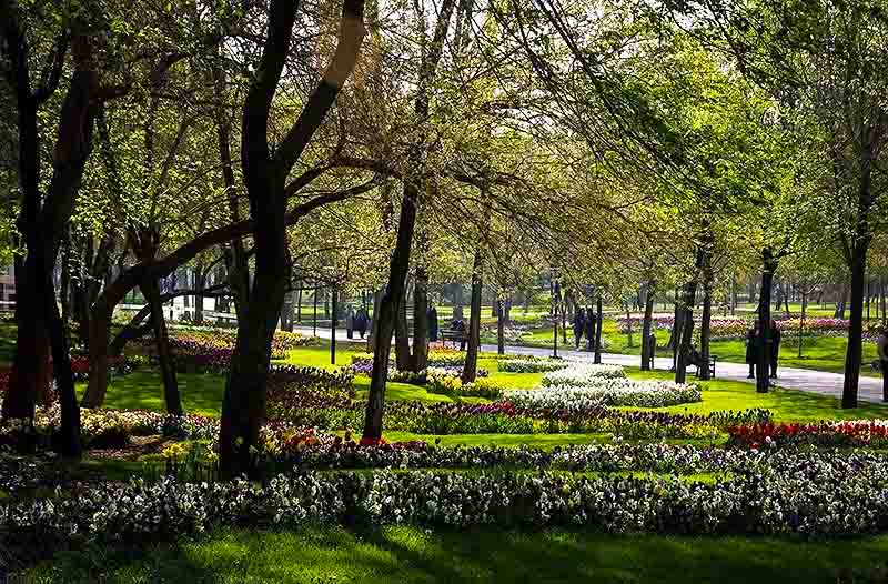 پارک ملت مشهد مقدس,تاریخچه پارک ملت,تصاویر پارک ملت