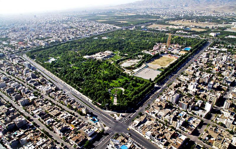 عکس ترن پارک ملت مشهد
