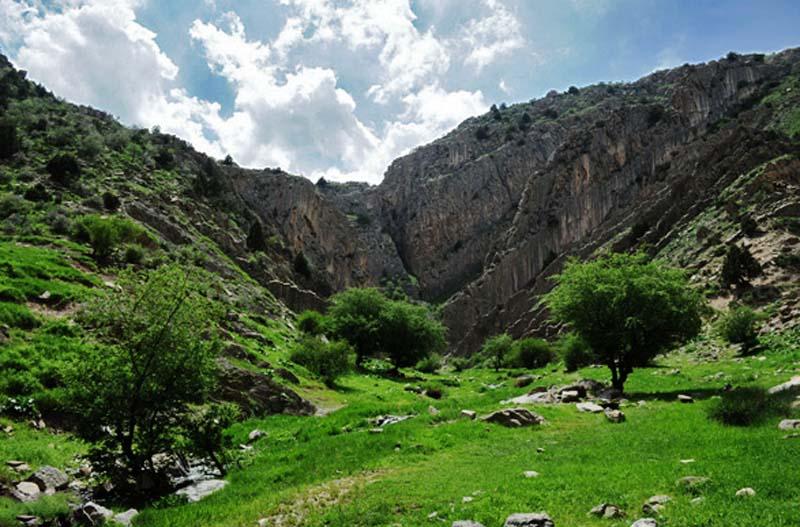 آبشار قره سو کلات,آدرس قره سو,جاذبه های گردشگری مشهد