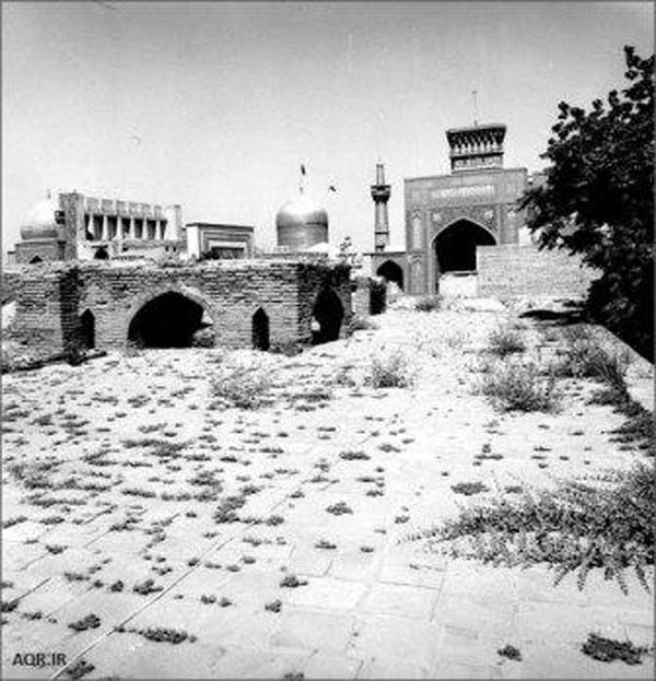 آدرس مدرسه خیرات خان,تصاویر مدرسه خیرات خان,حوزه علمیه مشهد