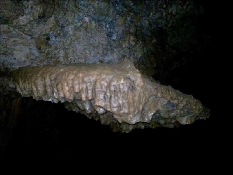 نقشه غار مغان