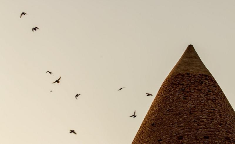 عکس برج رادکان مشهد,قدمت برج رادکان,گنبد رادکان