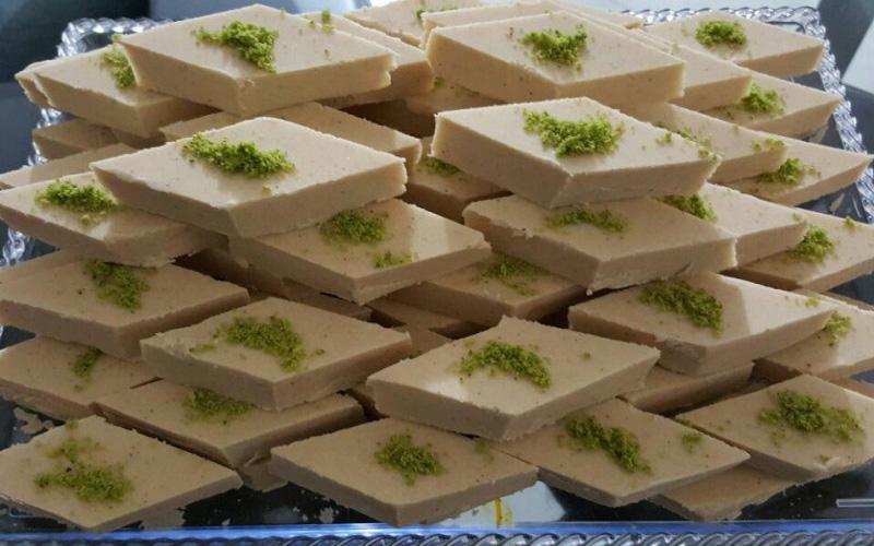 حلوا لوزی سوغات همدان