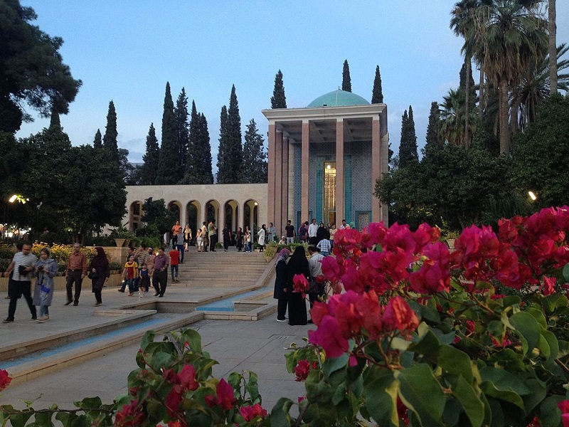 آرامگاه سعدی,آرامگاه سعدی در شیراز,آرامگاه سعدی شیرازی