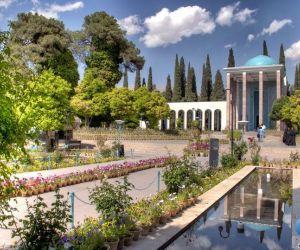 آدرس سعدیه شیراز,آرامگاه سعدي شيراز,آرامگاه سعدی