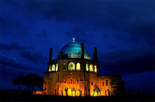آرامگاه محمد خدابنده,گنبد سلطانیه,گنبد سلطانیه پلان