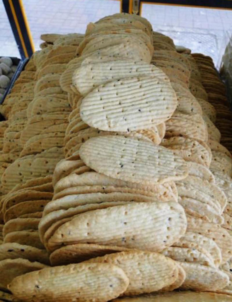نان پادرازی سوغات گرگان