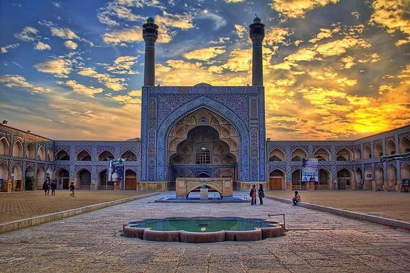 آدرس مسجد جامع اصفهان,جاذبه هاي گردشگري اصفهان,جاذبه های گردشگری استان اصفهان