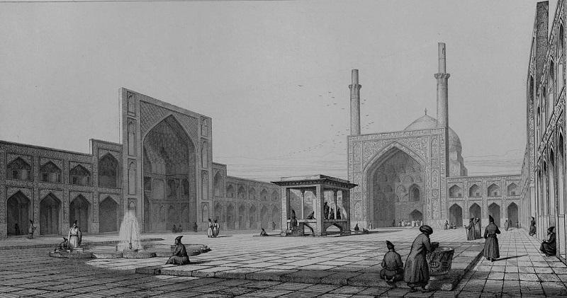مسجد جامع اصفهان عکس,مسجد جامع اصفهان کجاست