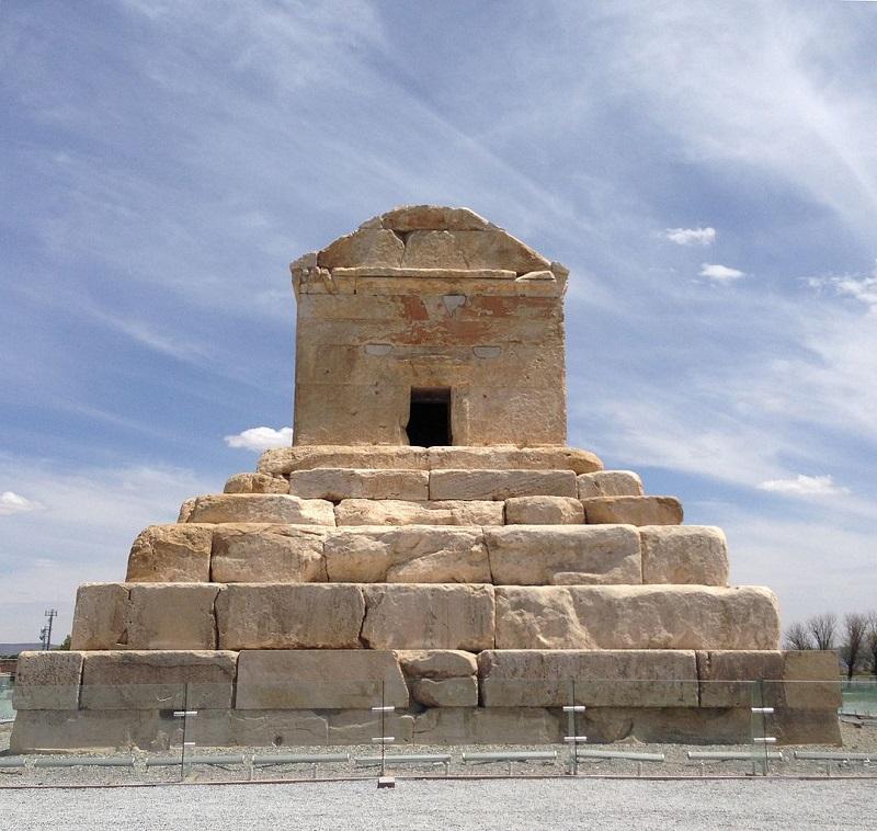 آرامگاه کوروش بزرگ,بنای تاریخی پاسارگاد,پاسارگاد شيراز