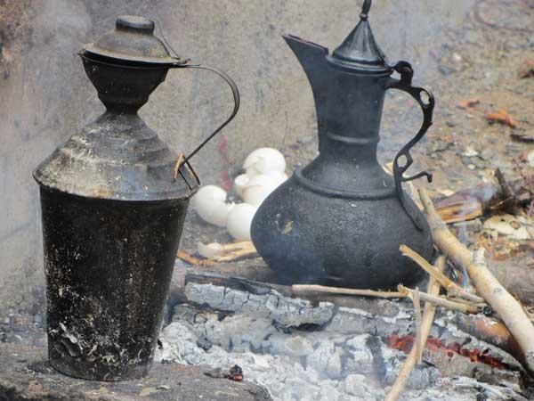 املت آتیشی,چای کوهی در روستا,خوردن جوجه در طبیعت