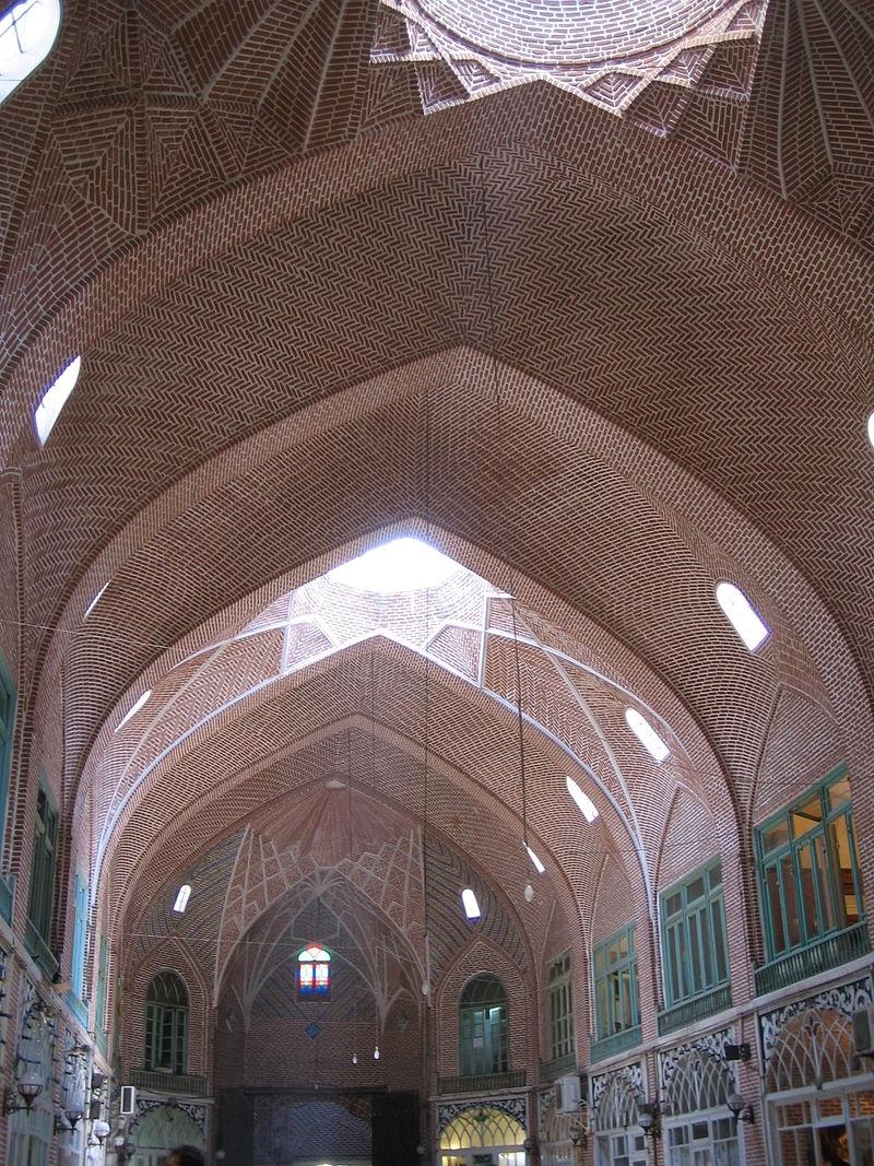بازار تبریز معماری,تیمچه مظفریه,جاذبه های تاریخی تبریز