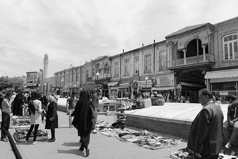 عکس بازار تبریز,عکسهای بازار تبریز,معماری بازار تبریز