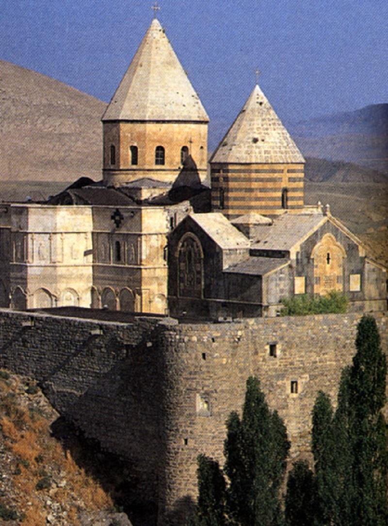 کلیسای استفانوس مقدس آذربایجان,کلیسای زور زور,کلیسای مریم مقدس تبریز