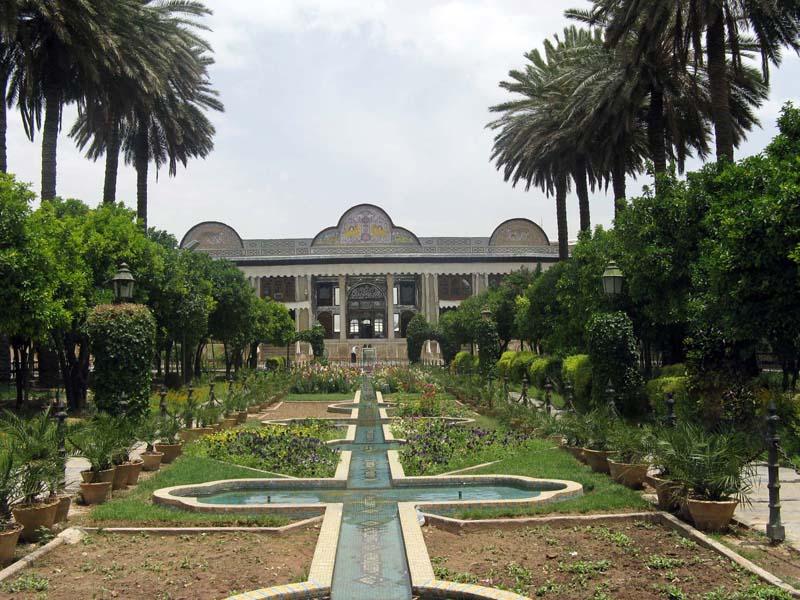 باغ ایرانی,شاهکار باغ های ایرانی,عکس باغ ارم