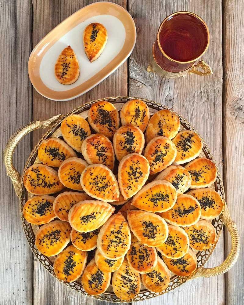 شیرینی سنتی قزوین,شیرینی نان قندی قزوین,صنایع دستی و سوغات قزوین