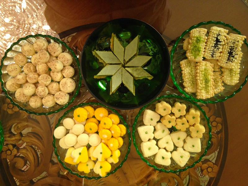 شیرینی سنتی قزوین,نان چای قزوین,نان نازک قزوین