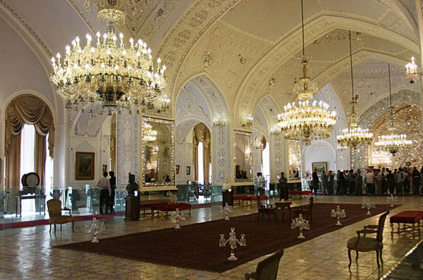 کاخ گلستان تهران,کاخ گلستان شمس العماره,کاخ موزه گلستان