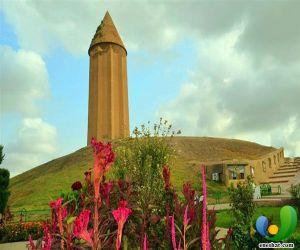 برج گنبد قابوس,شهر گنبد کاووس,عکس گنبد کاووس