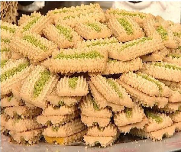 باقلوا قزوین,سوغات قزوین,سوغاتی قزوین