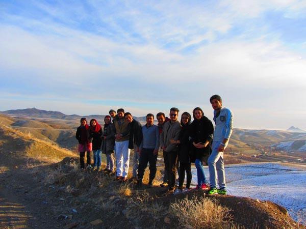 عکس روستای مغان,عکس های برف بازی,گزارش برنامه پاییز مغان