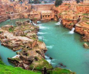 آسیاب آبی شوشتر,جلگه خوزستان,رودخانه دز