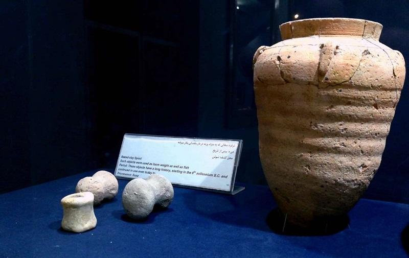 منطقه حفاظت شده کرخه,موزه شهر شوش,موزه شوش