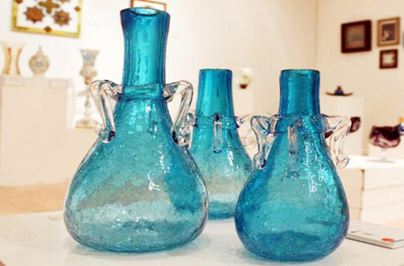 کارگاههای شیشه گری، صنایع دستی تهران را چشمنوازتر از همیشه آغاز کردند