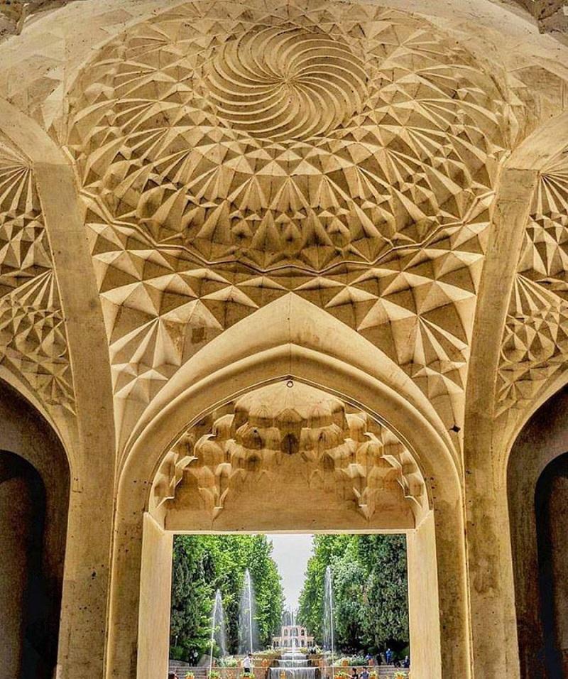 باغ ماهان کرمان,پلان باغ شاهزاده ماهان,عکس باغ شاهزاده ماهان