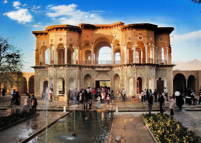 عکس باغ شاهزاده ماهان کرمان,قدمت باغ شاهزاده ماهان,معماری باغ شاهزاده ماهان