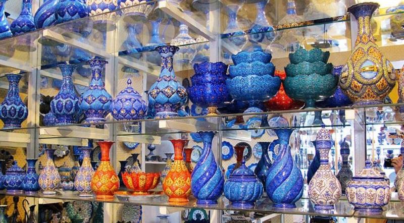 عکس از بازار اصفهان,عکس بازار اصفهان,مسجد ساروتقی