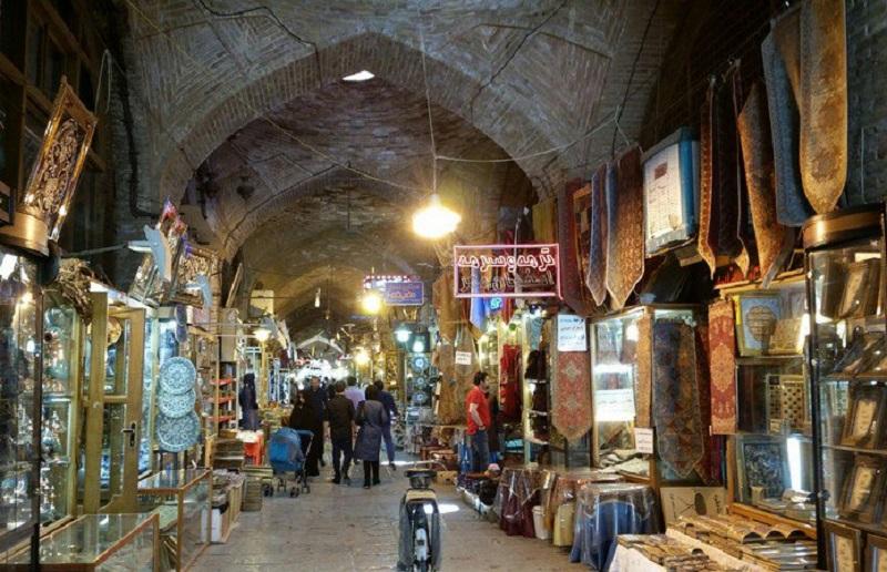 معماری بازار اصفهان