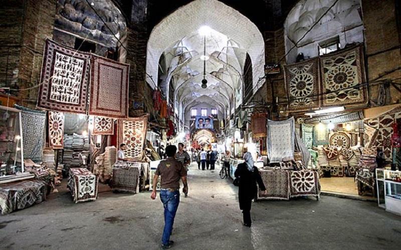 بازار قیصریه در اصفهان,بازار لوافها,تاریخچه بازار اصفهان