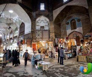 بازار تاریخی اصفهان,بازار دروازه اشرف اصفهان,بازار قیصریه اصفهان