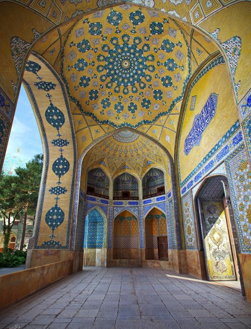 عکسهای مدرسه چهارباغ اصفهان,مدرسه چهار باغ در اصفهان,مدرسه چهارباغ اصفهان معماری