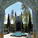 تاریخچه چهار باغ اصفهان,تاریخچه مدرسه چهار باغ اصفهان,چهار باغ
