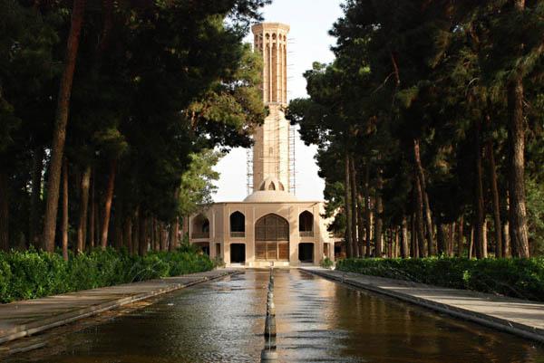بادگیر باغ دولت آباد,بادگیر باغ دولت آباد یزد,باغ دولت آباد