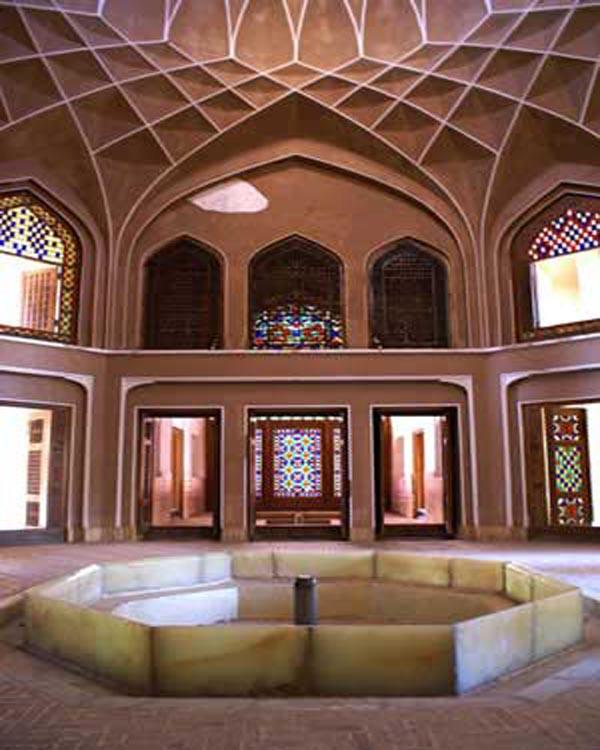 معماری باغ دولت آباد یزد