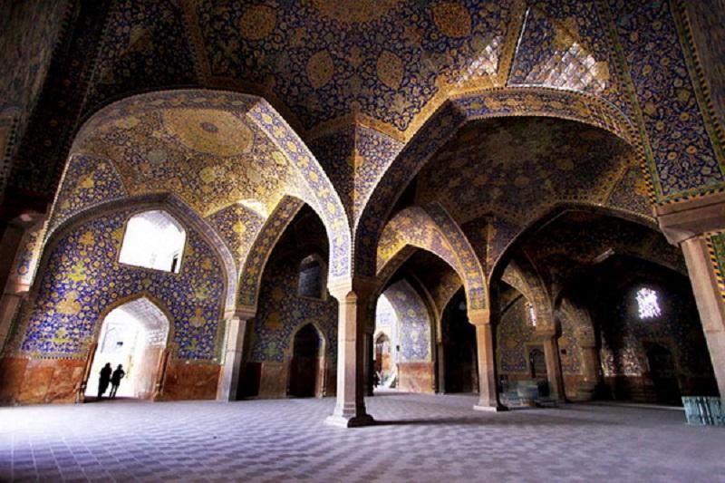 مسجد امام اصفهان معماری,مسجد امام در اصفهان,معماری مسجد امام اصفهان