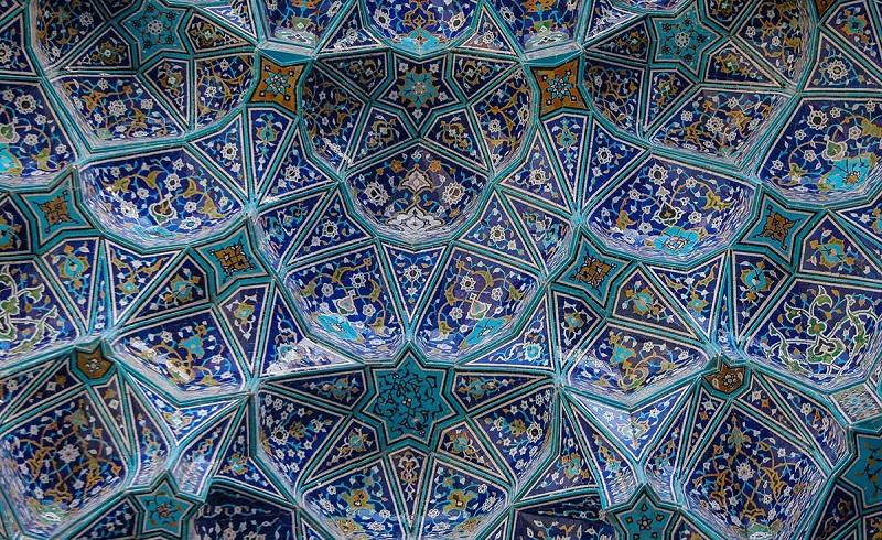 عکس مسجد امام اصفهان,گنبد مسجد امام اصفهان,مسجد امام اصفهان