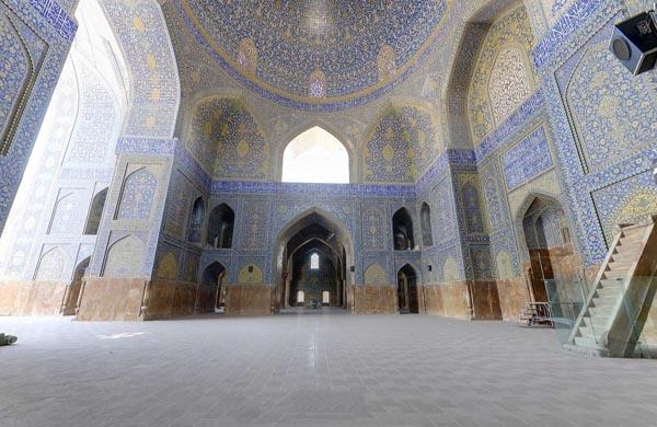 مسجد شاه عباس اصفهان