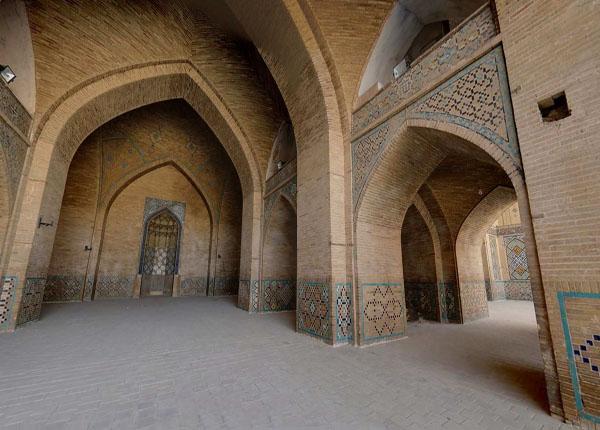 معماری مسجد حکیم اصفهان