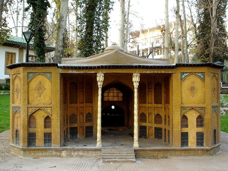 عکس هشت بهشت اصفهان,كاخ هشت بهشت اصفهان,کاخ هشت بهشت اصفهان