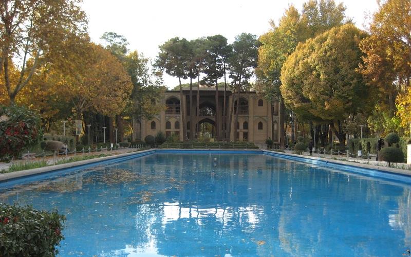 معماری کاخ هشت بهشت اصفهان,هشت بهشت,هشت بهشت اصفهان