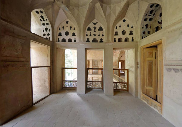 کاخ هشت بهشت اصفهان,معماری کاخ هشت بهشت اصفهان,هشت بهشت