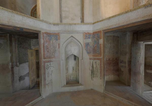 پلان کاخ هشت بهشت اصفهان,عکس از هشت بهشت اصفهان,عمارت هشت بهشت اصفهان